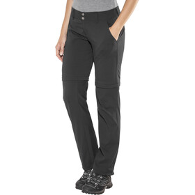 Columbia Saturday Trail II Convertible Pantalon Normal Femme, black